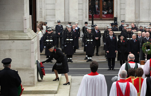 Post image for United by the Cenotaph.